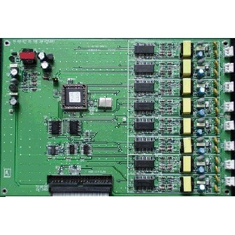#萬國總機系統#FX-60 DET8回路數位分機卡#界面卡#擴充卡#商用電話#電話總機#數位話機界面卡#