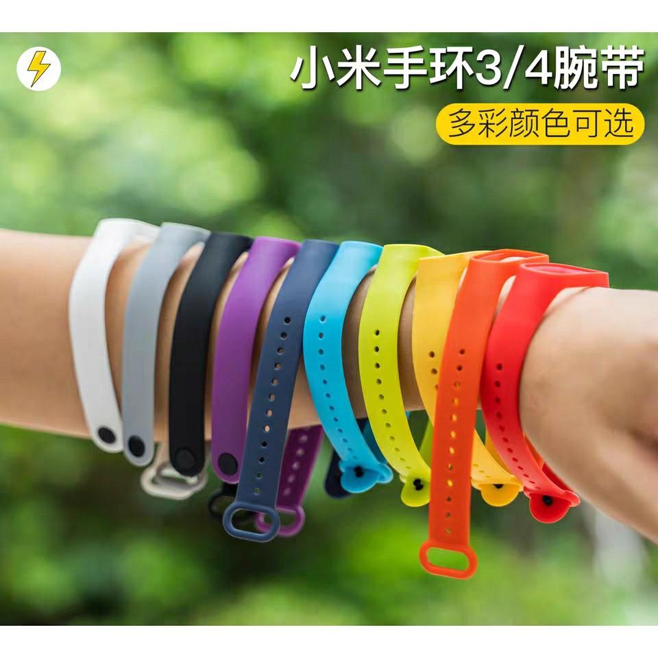 【現貨】小米手環4錶帶 小米手環3/4通用小米錶帶 小米手環錶帶 腕帶 運動錶帶 防水錶帶 通用錶帶 智能手環