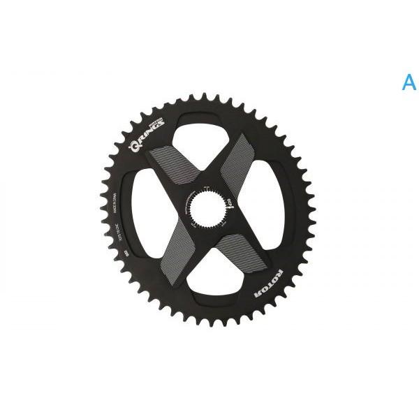 巡揚單車 -【ROTOR】Q RINGS® DM 1x 一體直鎖式橢圓齒片 橢圓盤 單盤 改裝齒 可搭配2INPOWER