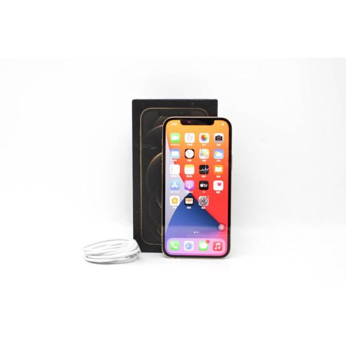【台南橙市3C】APPLE IPHONE 12 PRO 128G 128GB 金色 6.1吋 二手蘋果手機#61728