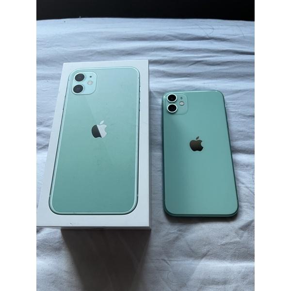 iPhone 11 128G 青蘋綠 二手美品