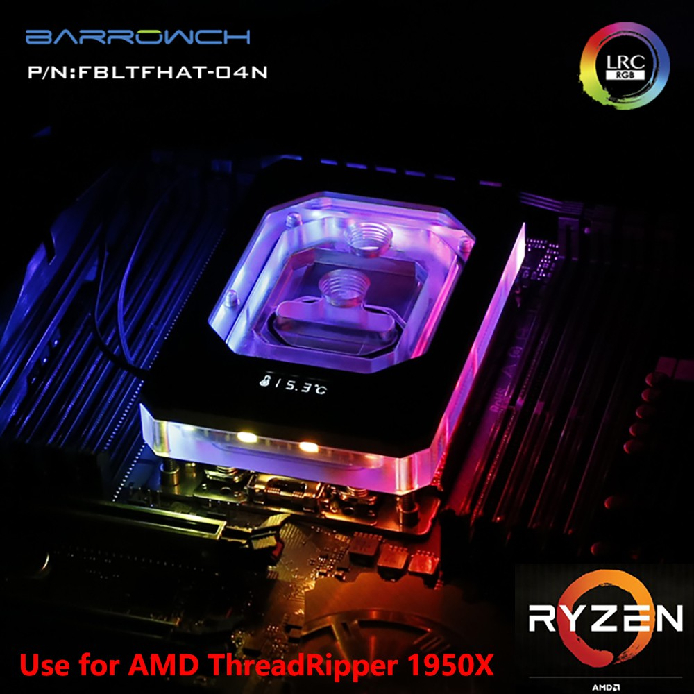適用於AMD RYZEN ThreadRipper X399 1950X的手推車CPU塊