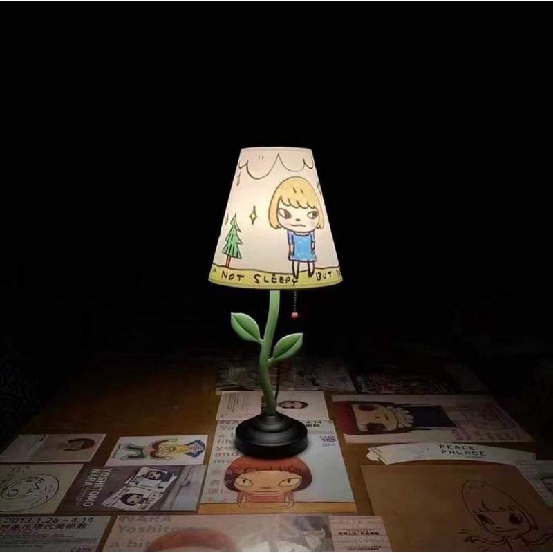 已收到(收)奈良美智燈 Y.N.LAMP