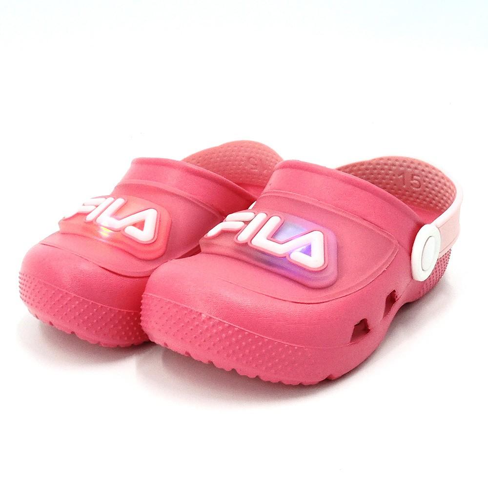 FILA MD 電燈園丁鞋 中小童 涼鞋 7-S855U-555