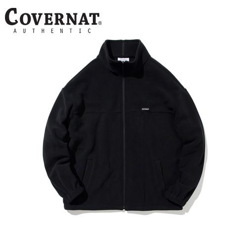 [COVERNAT] FLEECE ZIP-UP 夹克 BLACK