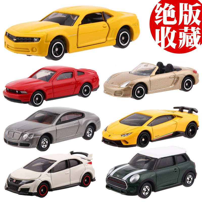 3-30    多美卡TOMICA限量收藏版合金汽車模型賓利GT科邁羅MINI迷你奧迪R8