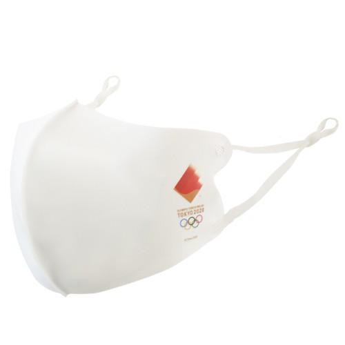 接觸涼感口罩面罩 奧運聖火傳遞款 黑色 日本東京奧運 東奧 紀念品官方商品 現貨商品