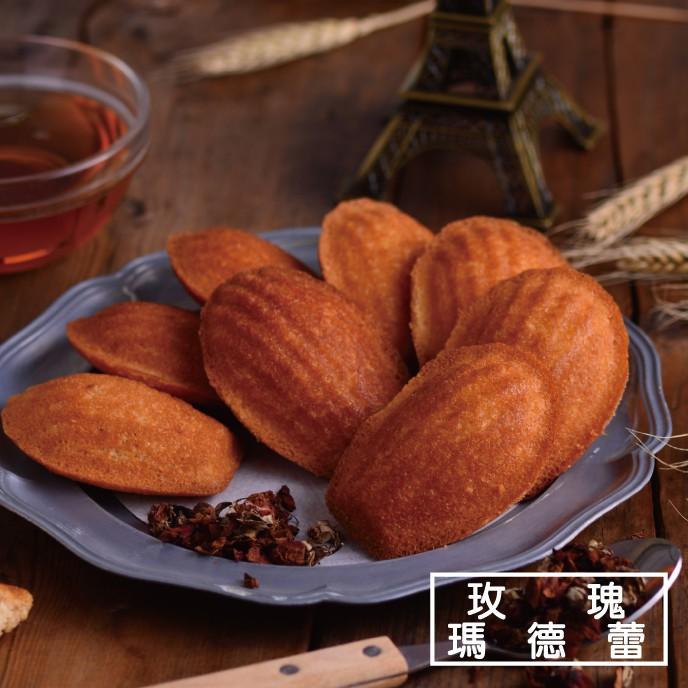 【食感旅程Palatability】常溫蛋糕6入組 蜂蜜瑪德蕾 玫瑰瑪德蕾 法式金融家 抹茶金融家