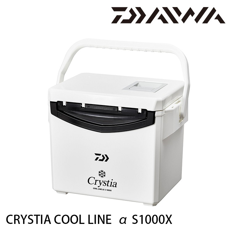 DAIWA CRYSTIA COOL LINE α S1000X [漁拓釣具] [硬式冰箱]