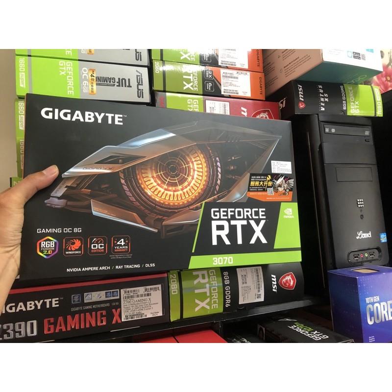 技嘉 RTX 3070 GAMING OC 8G 顯示卡 全新未拆現貨一張