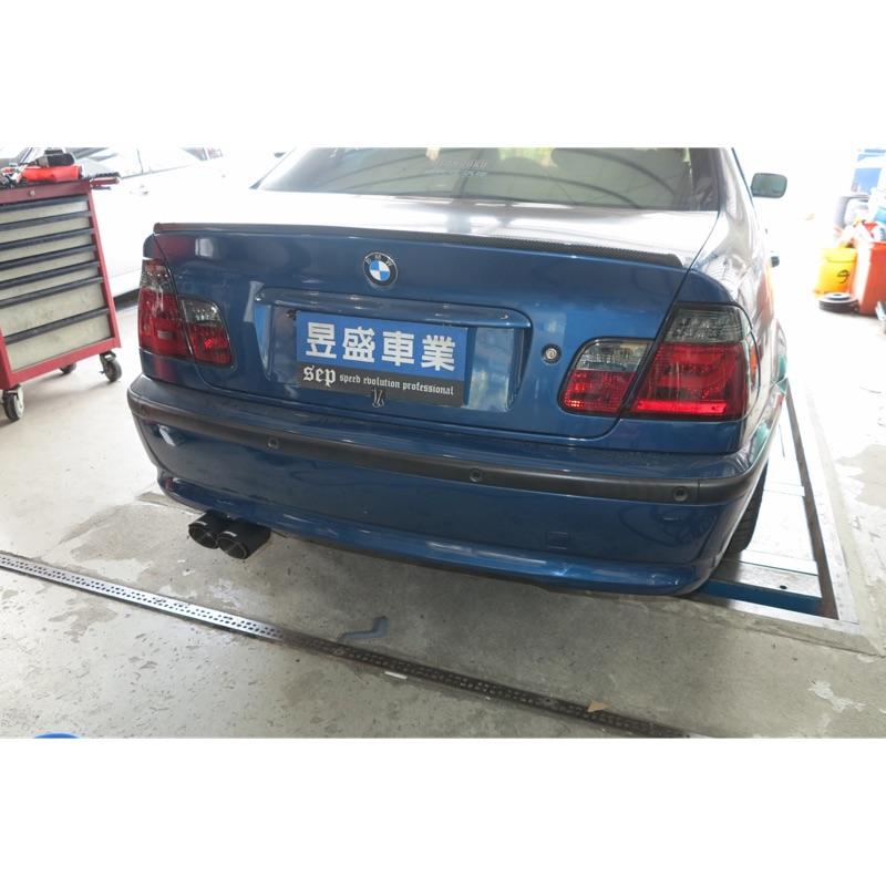 昱盛車業 BMW E53 F20 X5 F10 E46 G30 E30 改裝排氣管 尾飾管 尾桶 避震器 中尾段