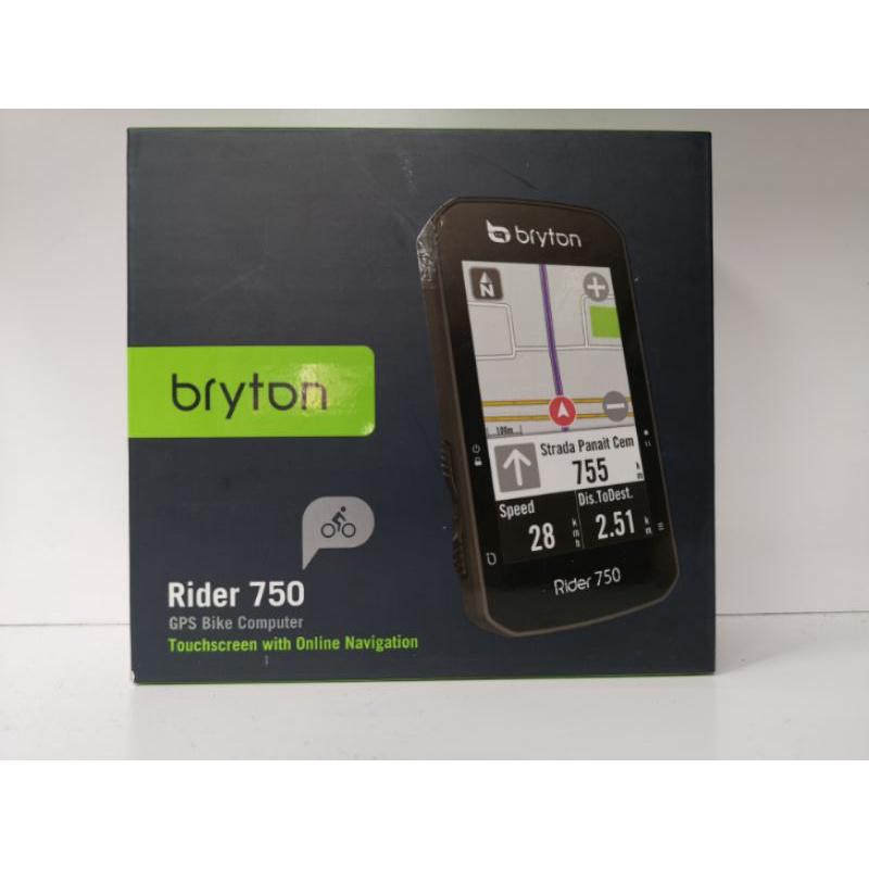 現貨 出貨快 Bryton Rider 750E 自行車碼錶+延伸座 GPS衛星導航 彩色螢幕 語音搜尋