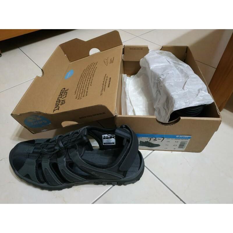 全新 HI-TEC 英國戶外NO.1 水陸二棲休閒護指涼鞋