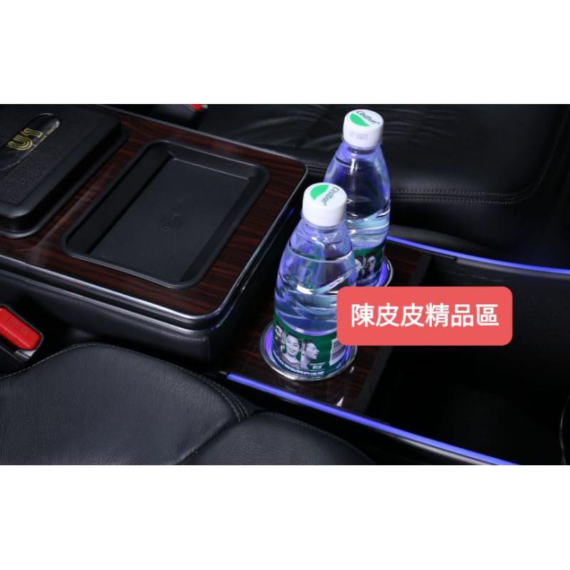 本田ODYSSEY15~21年CRV3代3.5代中央扶手置物箱(支援單一個無線充功能帶左右兩邊導光條)USB點煙器孔都有