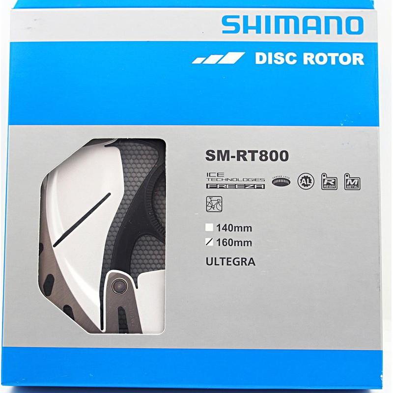 SHIMANO Ultegra SM-RT800 S/SS碟煞公路車專用散熱碟盤 140mm 160mm 內選