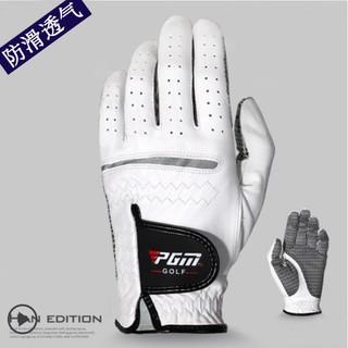 Golf高爾夫球手套男士 羊皮材質左手右手單只雙手 柔軟透氣運動手套 手掌防滑粒設計 單只裝