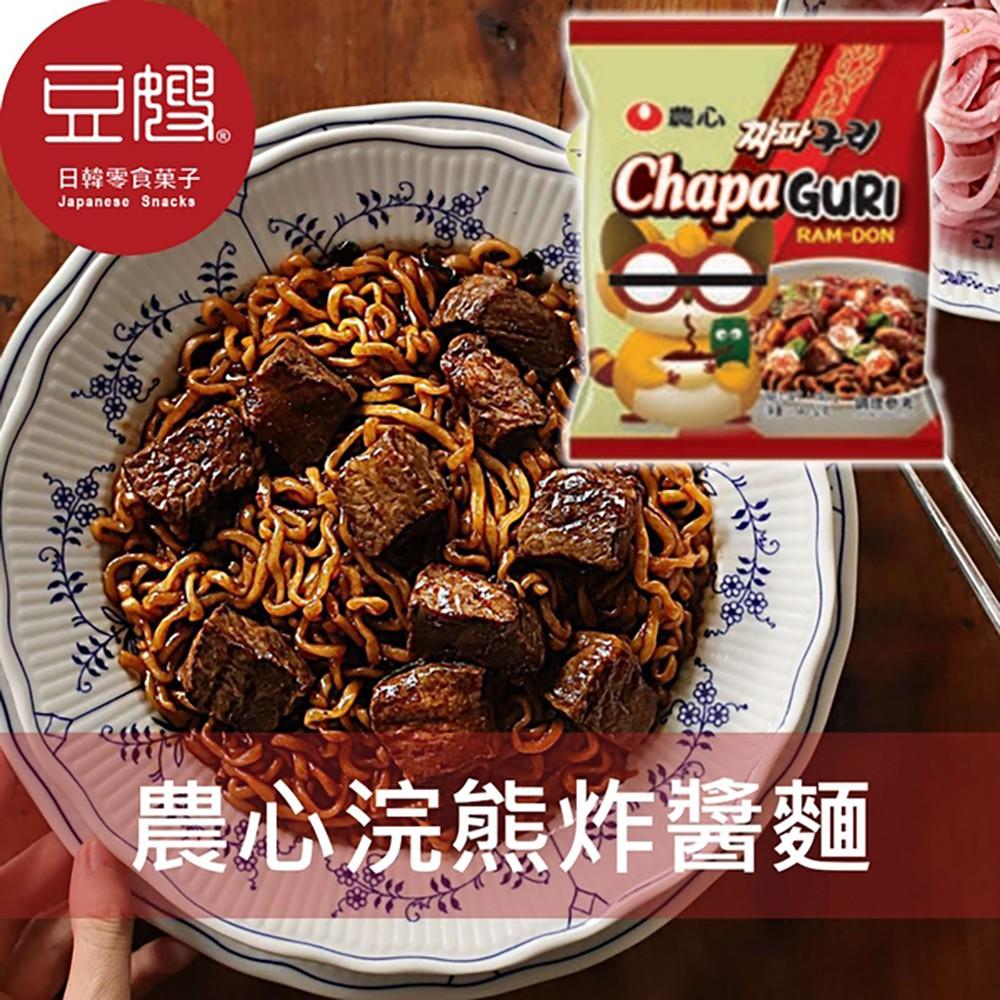 【農心】韓國泡麵 農心 浣熊炸醬烏龍(單包)