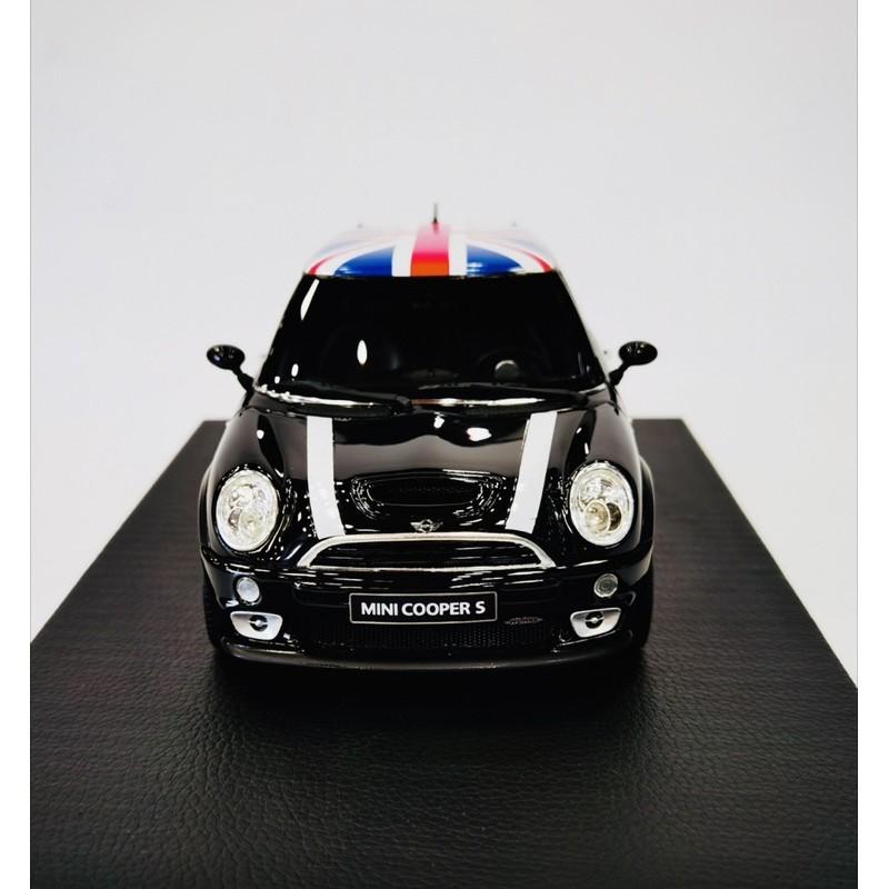 BuyCar模型車庫 1:18 Mini Cooper 黑色模型車