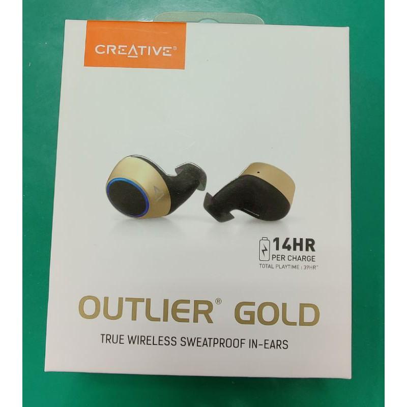 Creative outlier gold 無線藍牙耳機