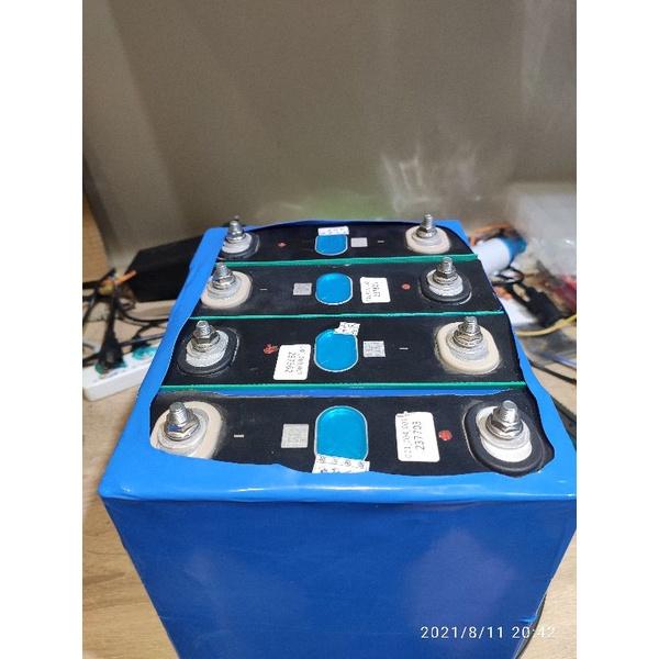 現貨 自己買來組-鋰鐵電池 3.2V 13.2V 200A  露營 啟動 駐車冷氣 釣魚 發電 夜市 逆電器 逆變器