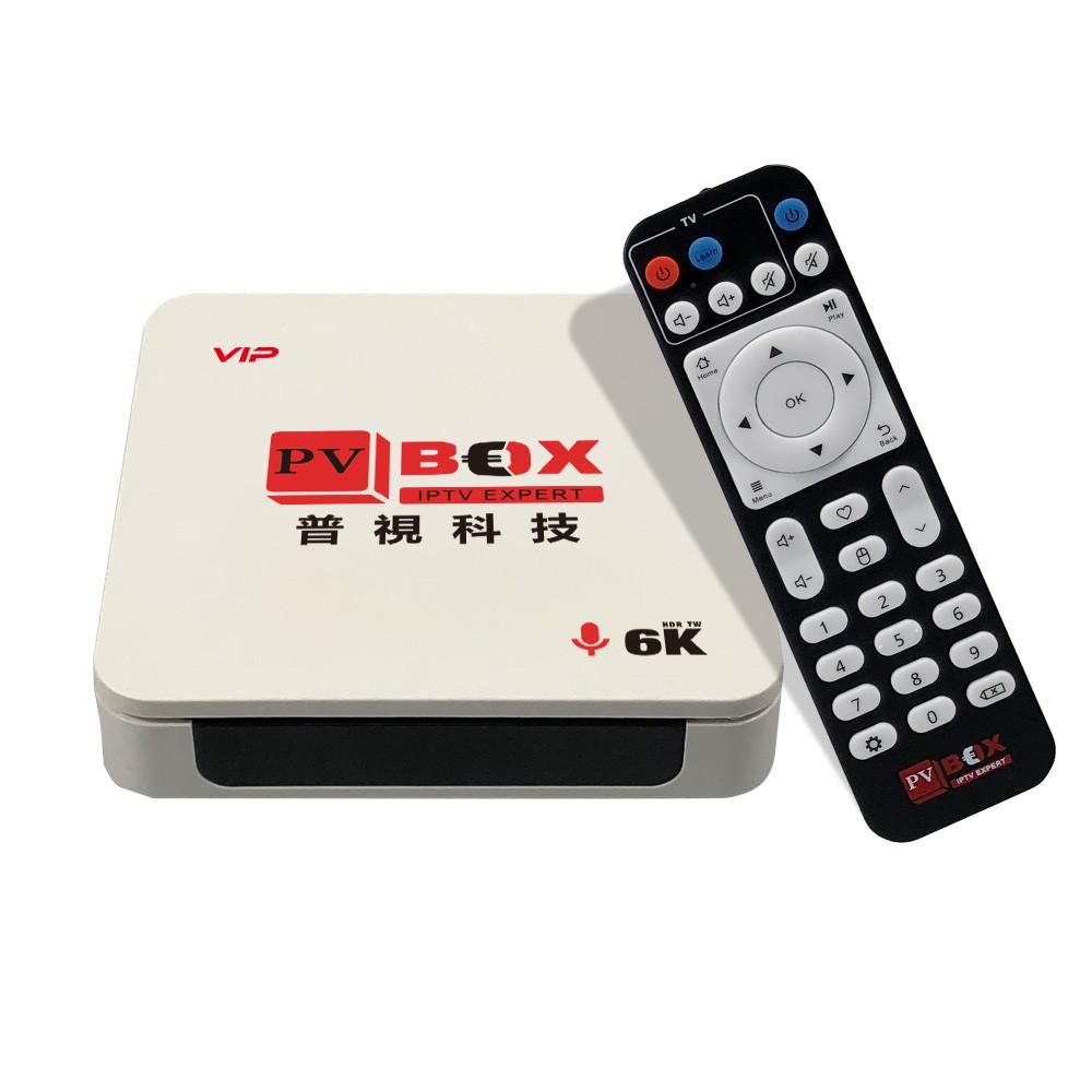 PVBOX普視電視盒P4 4G(系統記憶體)/32G(儲存記憶體) 贈無線滑鼠 免翻牆 安博 evpad