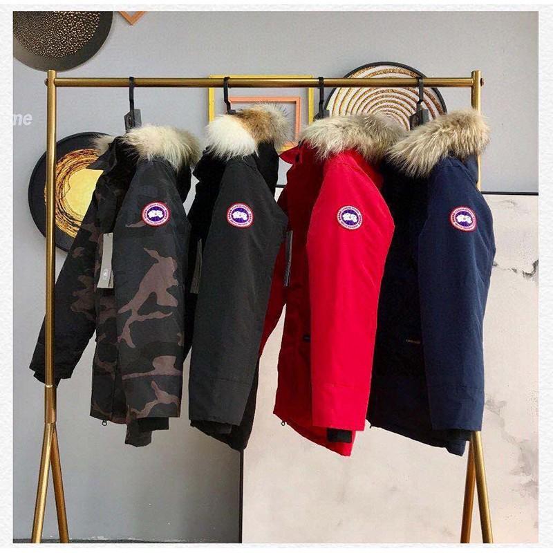 Canada goose 風衣外套 連帽外套 防寒保暖 加拿大 大鵝外套 羽絨外套 進口百靈達繡花機定制繡花標 頂級質量
