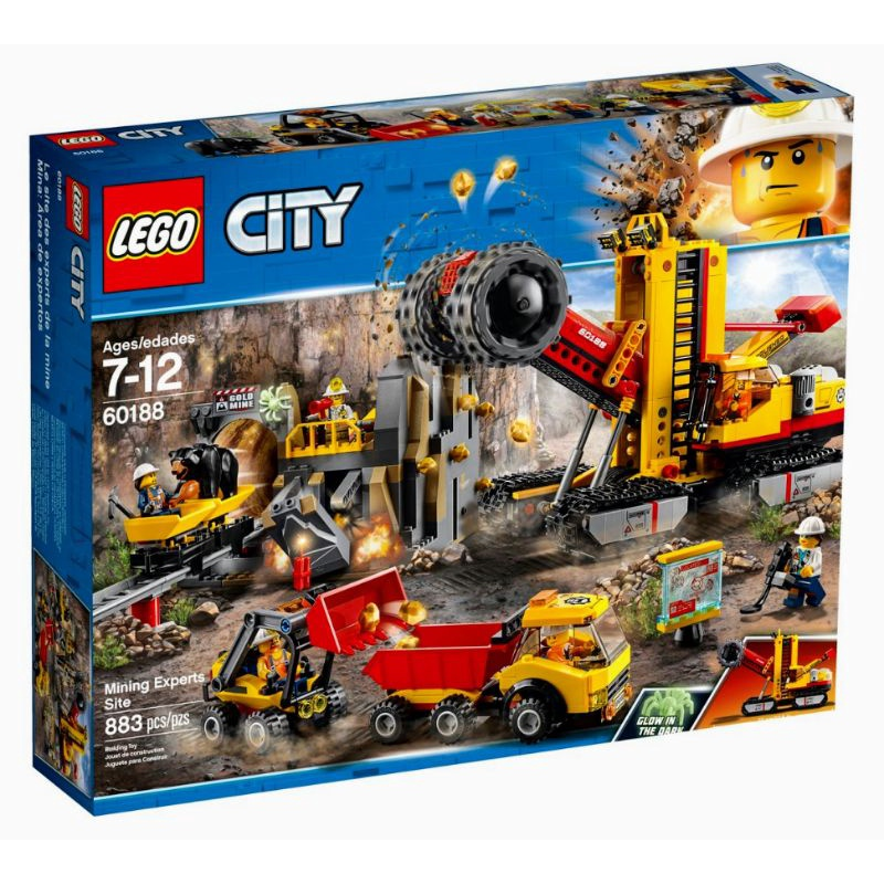 [台中可自取] 樂高 LEGO 60188 採礦專家現場 CITY 城市系列