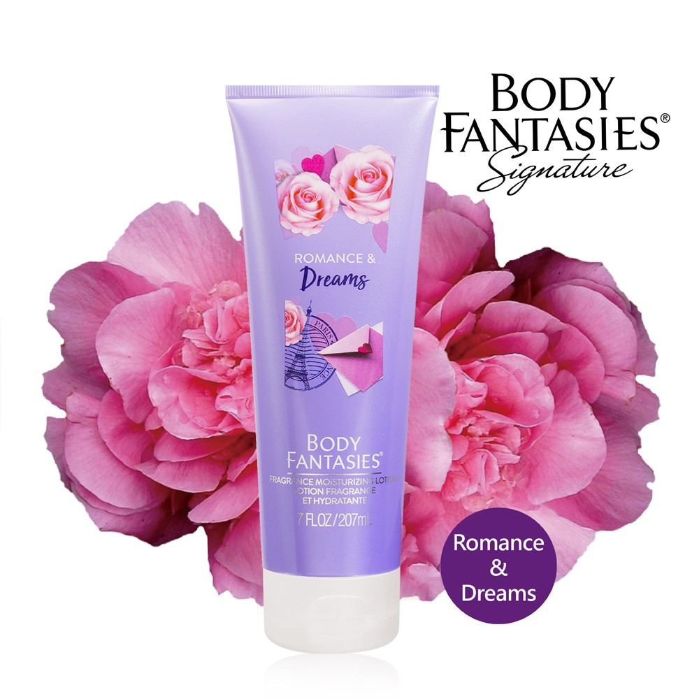美國代購 Body fantasies 情定巴黎 香水身體乳液 207ml