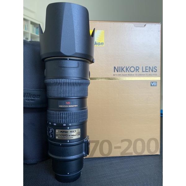 NIKON 70-200mm二手/中古/9成新/信乃達保護鏡