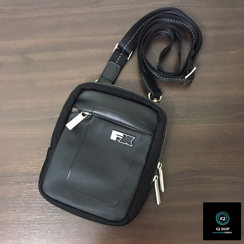 【K2 SHOP】現貨 正品 二手 FX CREATIONS 側背包 單肩包 護照包 男包 原價$1480