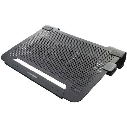 【 也店家族 】_可寄超商_酷媽 Cooler Master Notepal U3 PLUS 全鋁散熱墊- 三風扇