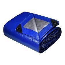 現貨 免運2021 COSTCO 好市多地墊 兩入防水帆布地墊 365*488天慕露營好事多野餐墊地墊藍銀1600091