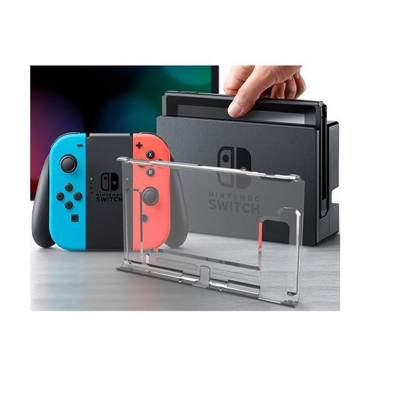 NS switch 主機水晶殼 單背蓋 保護您的主機 防摔透明單背蓋水晶殼