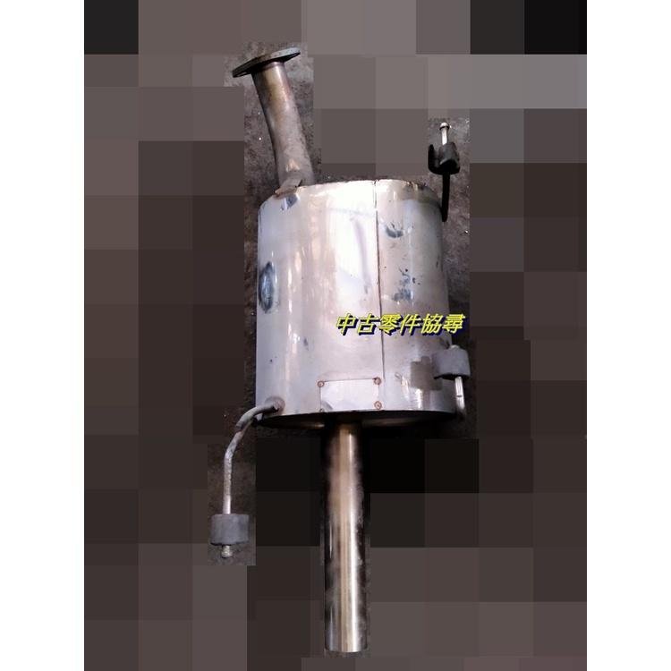 (中古零件協尋) NISSAN 裕隆 SENTRA 180 M1 HM 排氣管 51mm 白鐵後消 尾段