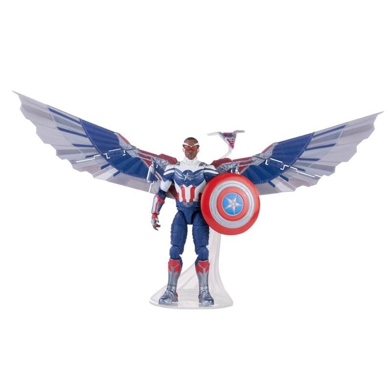 (卡司 正版現貨) 獵鷹與酷寒戰士 marvel legends 獵鷹 含 baf 翅膀 大翅膀
