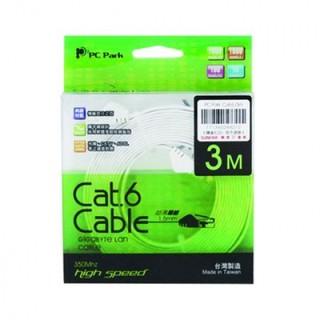 PC PARK Cat.6 3M超薄扁線 網路線 新北市