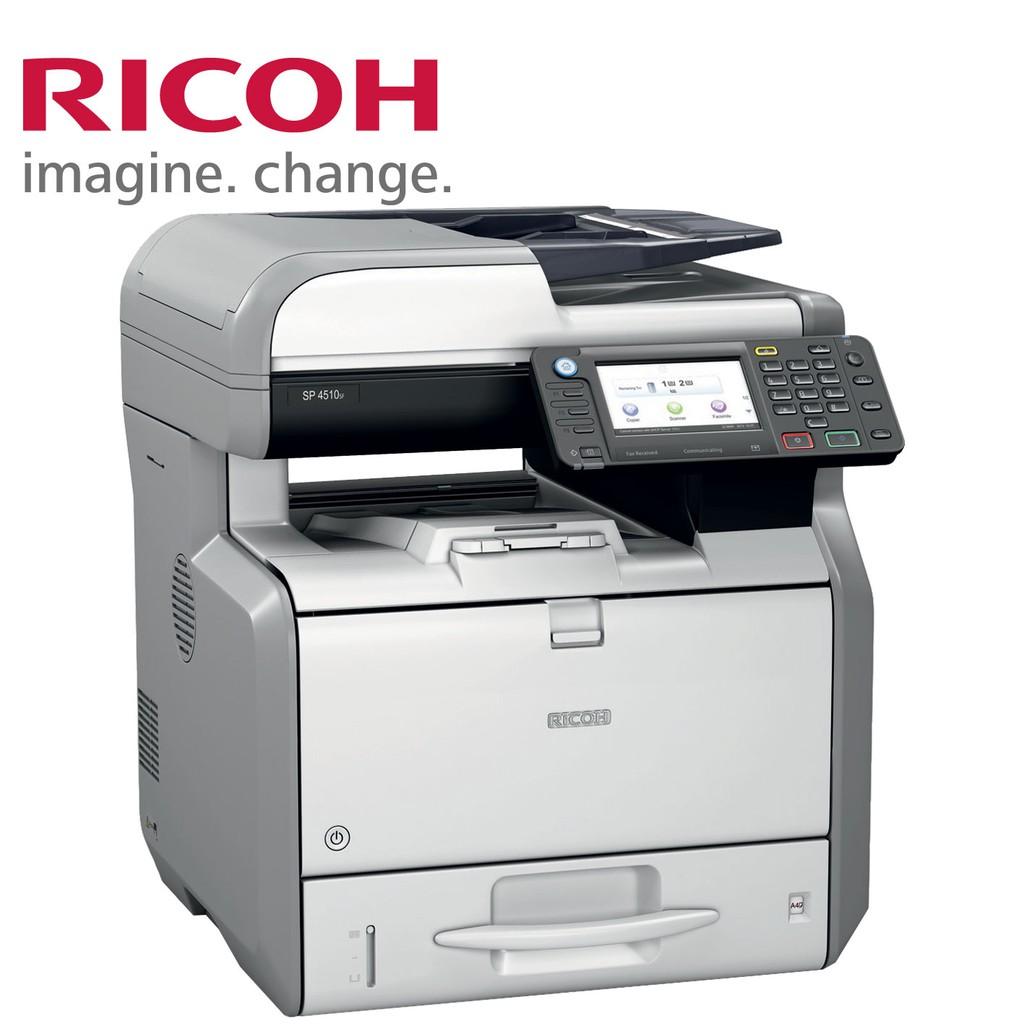 RICOH SP 4510SF 高速黑白傳真雙面雷射印表機