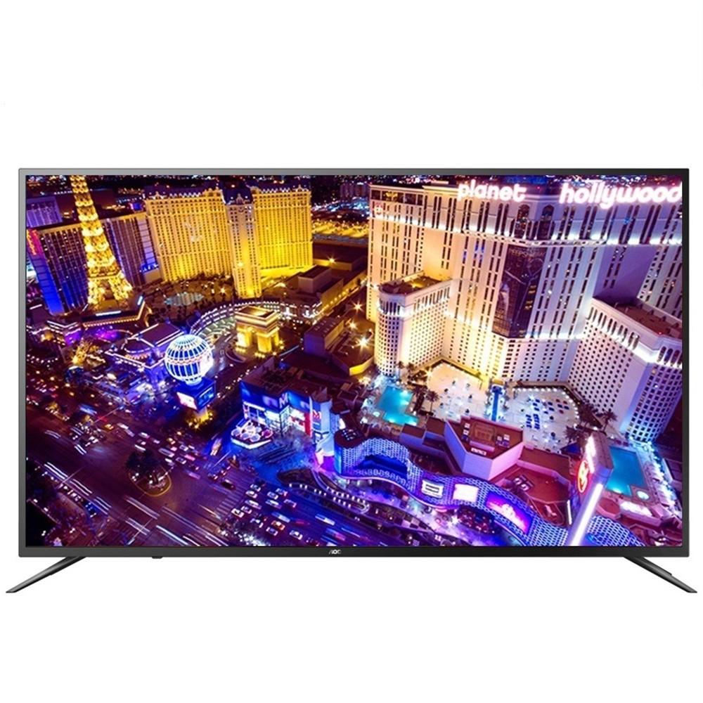 缺貨 【美國AOC】50吋4K HDR聯網液晶顯示器+視訊盒50U6090