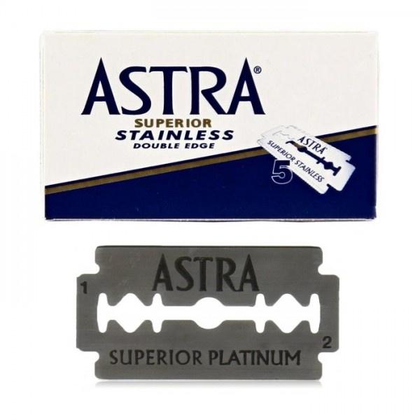 俄羅斯 Astra Superior Stainless 雙刃刀片 傳統刮鬍刀 安全刮鬍刀