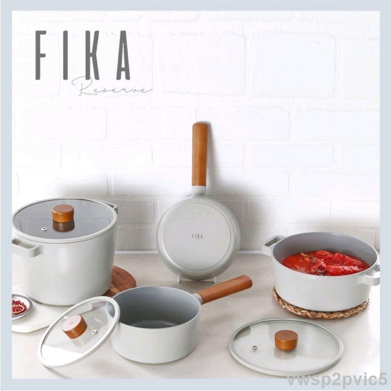 韓國直送FIKA RESERVE系列 午夜灰 MIDNIGHT GREEN 不沾鍋 平底鍋 炒鍋 湯鍋 NEOFLAM