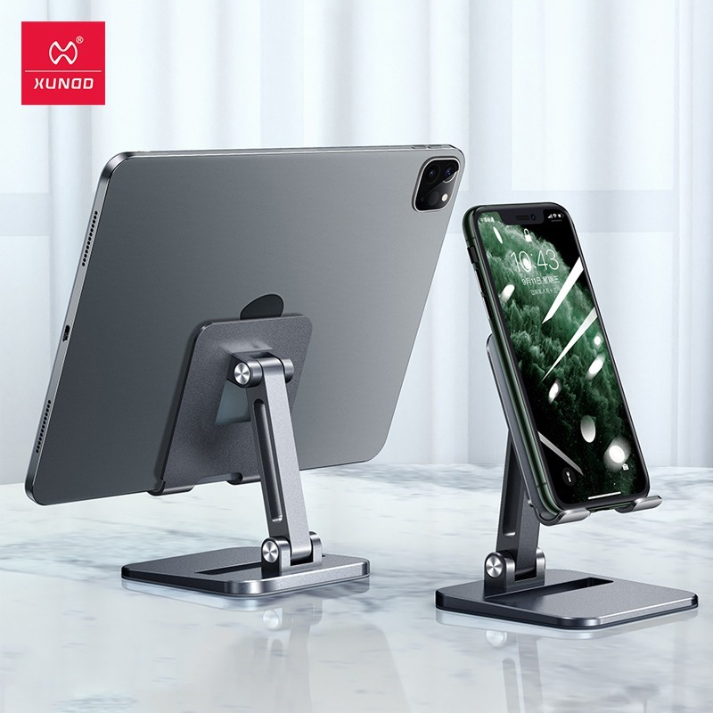 Xundd 迅迪桌面金屬支架可調節手機平板iPad適用直播網紅
