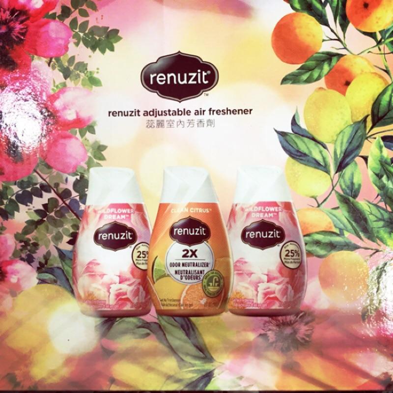 好市多代購 蕊麗 果凍狀室內空氣芳香劑 芳香劑 renuzit