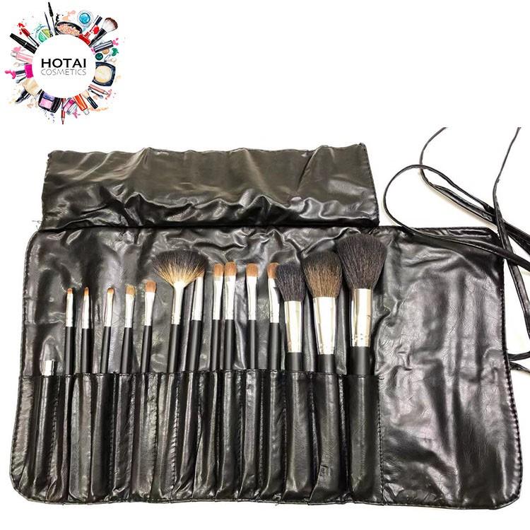 薇比 專業彩妝 刷具組 化妝刷 15件 (貂毛+尼龍毛) 美容考試 美容丙乙級【和泰美妝】