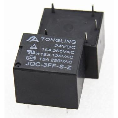JQC-3FF 24V 15A 5腳 繼電器 RELAY T73轉換型 SRD電磁繼電器 電鍋
