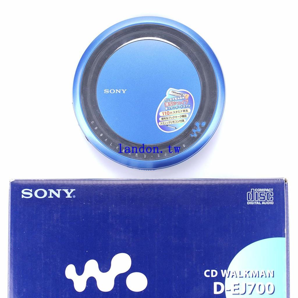全套帶包裝 SONY EJ700 索尼CD隨身聽 discman CD機播放器 超薄