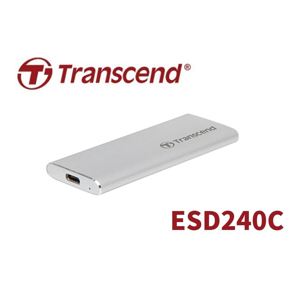 創見 Type-C 480GB ESD240C 外接行動固態硬碟 外接SSD固態硬碟 USB 可用 PS4 PS5