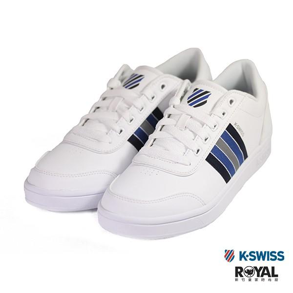 K-SWISS Court Clarksin 白色 皮質 休閒鞋 男款 NO.B0352 廠商直送 現貨