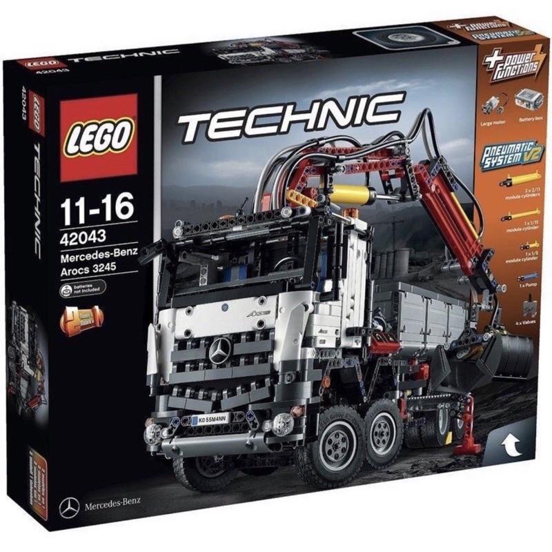樂高LEGO 42043 TECHNIC系列  Mercedes-Benz Arocs