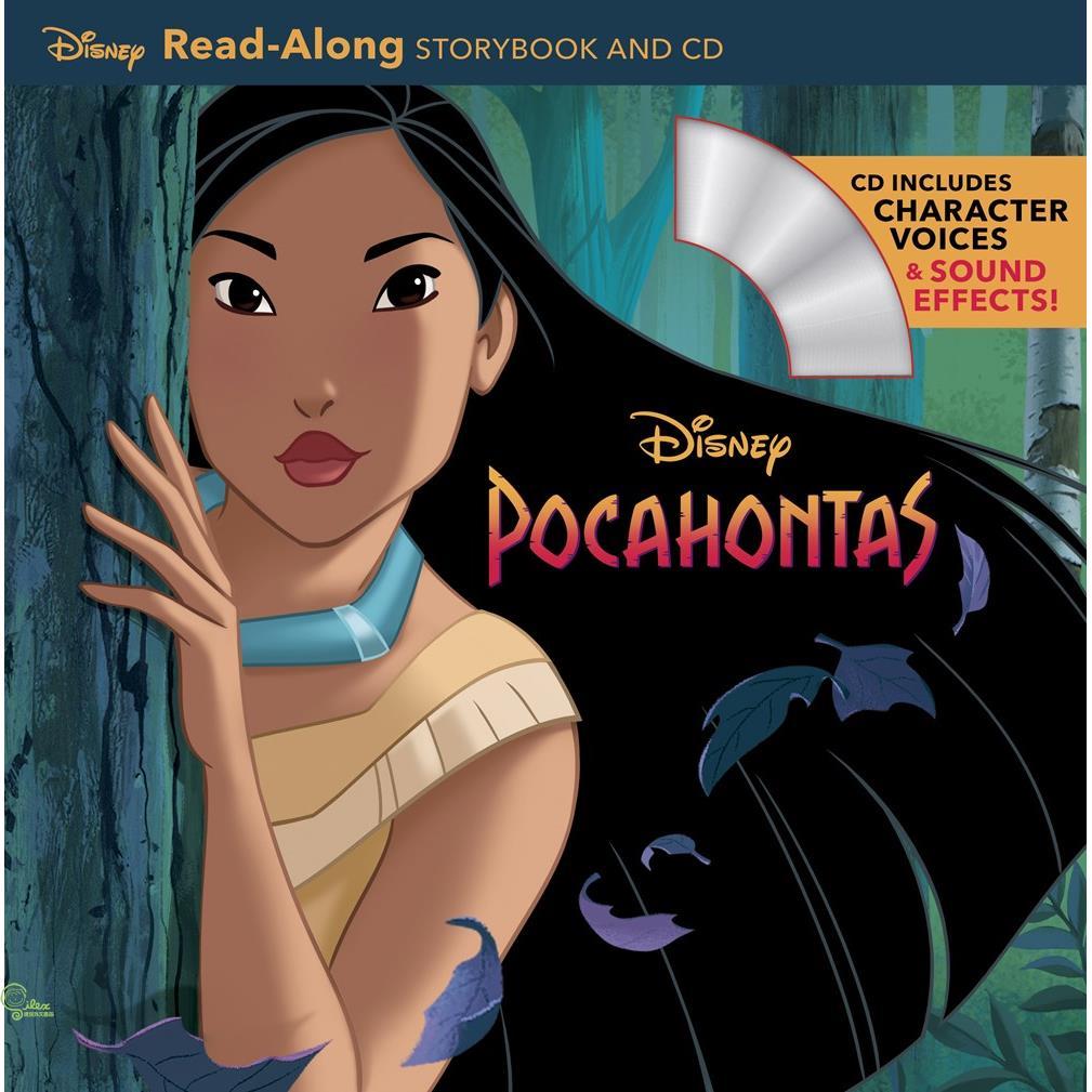 Pocahontas (1平裝+1CD)【禮筑外文書店】(有聲書)[79折]