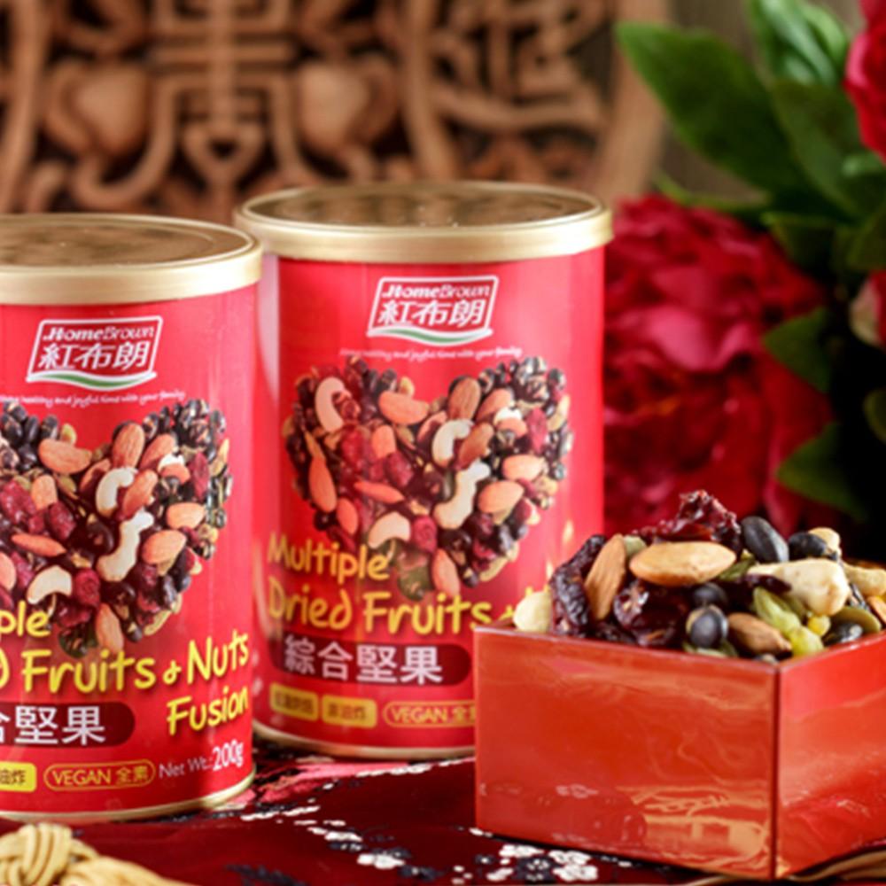 【紅布朗】綜合堅果(200g/罐)